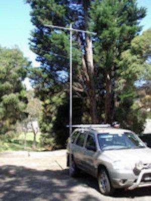 6 Meter Mast 3 Section Telescopic